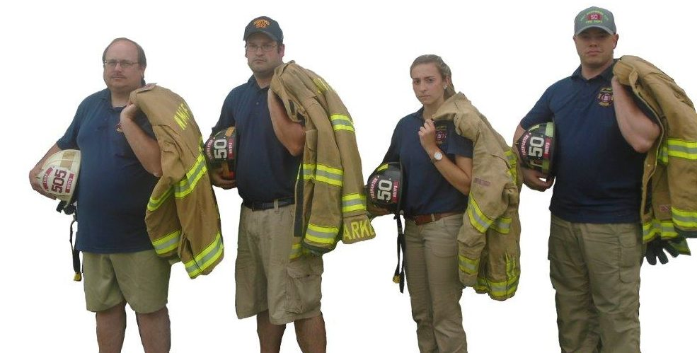 Fire Department Staff in Gear