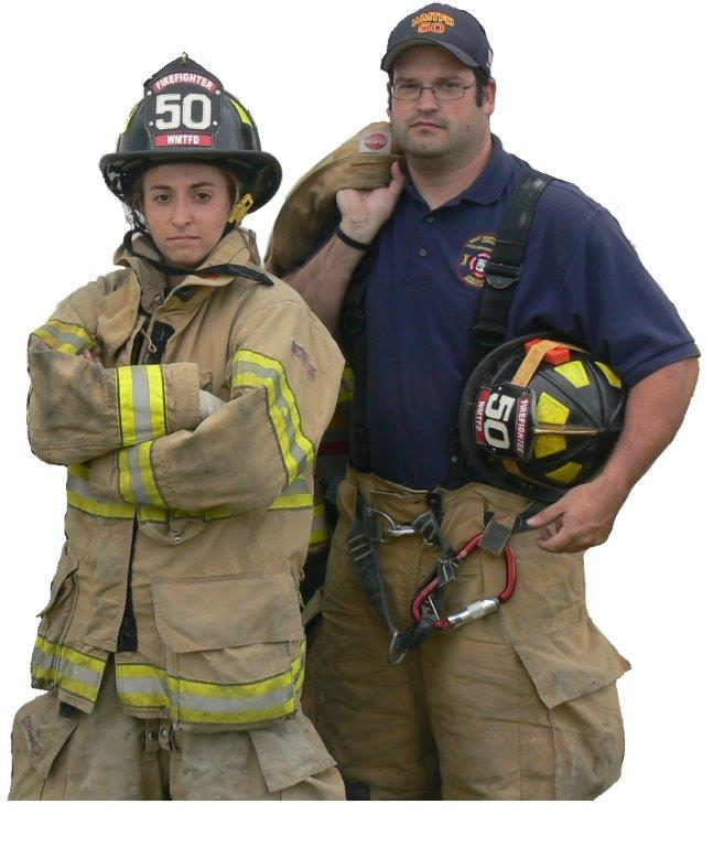 Fire Department Staff with Gear