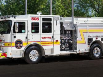 2015 Pierce Enforcer  1250 gpm pump  750 gallon booster tank.