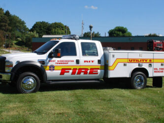 2009 Ford F-450 with utility body