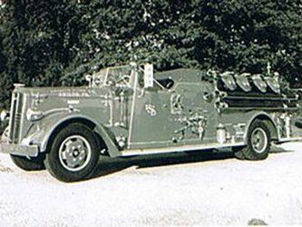 Retired Engine 2-2  1952 Ward LaFrance  500gpm pump  150 gallon booster tank